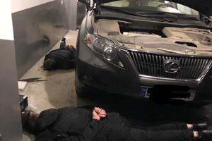 In Odessa the police opened fire on car thieves