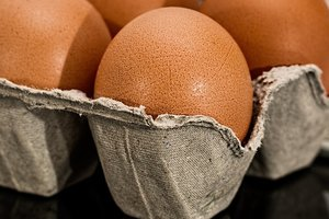 Показан загадочный трюк с яйцами