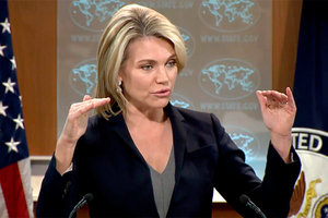 The state Department demanded Russia because of the death of a medic in the Donbass