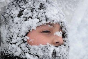 Из-за сильных морозов в Украине объявили штормовое предупреждение