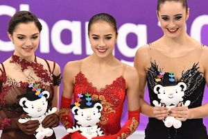 Women's figure skating at the Olympics was won by the figure skater from Russia