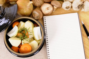 Great post-2018: prepare the potatoes with mushrooms in pots