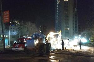 In Kharkov there was a serious accident on heating mains