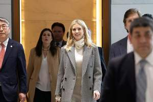 Ivanka trump arrived in South Korea for the closing of the Olympics