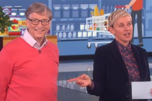 Bill gates disgraced the popular show: videos posted