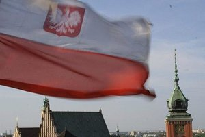 Ukrainians and Georgians fought with police in Poland