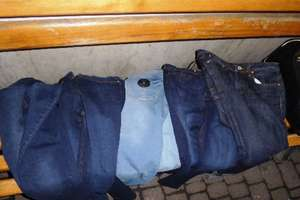 In Kiev, arrested a serial thief of jeans