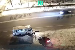 19-year-old Russian killed the bus driver because he drove slowly (video 18 )