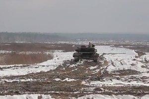 Ukrainian tankers learn NATO standards