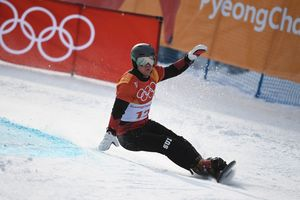 At the Olympics the 2018 determined the champion in the parallel giant slalom
