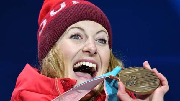 Рекорд. НаОлимпиаде спортсменка выиграла два золота в различных видах