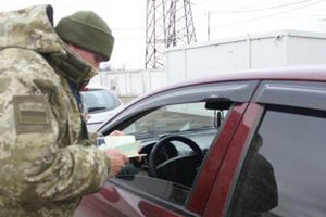 In the Donbass at the checkpoints gathered a lot of turns
