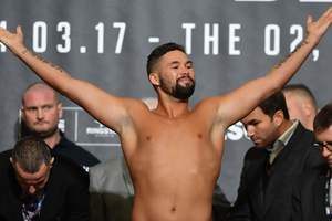 Tony Bellew will be back in the first heavy weight to fight with the Mustache