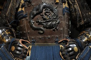 In Japan, the builders stumbled upon the sarcophagus of the warrior samurai