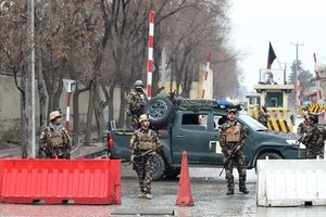 Afghan Taliban attacked a military base killed 18 soldiers