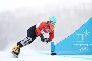 The only Ukrainian snowboarder, left the Olympics in 2018
