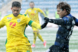 Chornomorets are in the minority, held a draw in the match against Karpaty