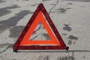 Serious accident in Kiev: Mitsubishi