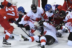 Canada won the bronze medal of the Olympic hockey tournament