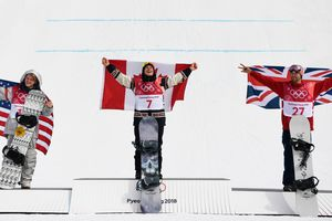 The canadian snowboarder won the Olympic gold in big-air