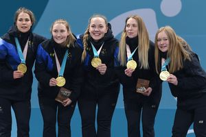 Swede won the last medal in Curling, not the Olympic games, beating the
