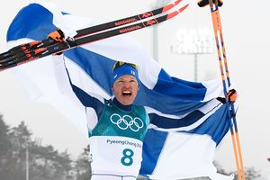 Like the changing of the skis helped Finland win the only gold medal of the Olympics