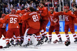 The Americans named the winners of the Olympic hockey tournament