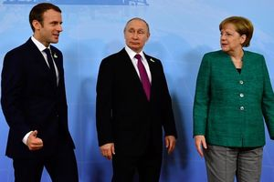 Merkel and macron turned to Putin over the deaths of hundreds of people in Syria