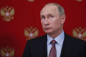 """В России сняли на видео, как мужчина из полицейской машины писал на заборе """"Путин"""""""