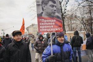 По всему миру прошли марши памяти Бориса Немцова