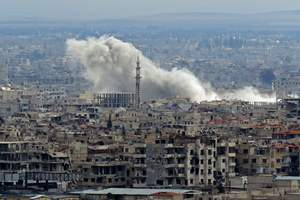 The UN complain that people in ghouta are unable to evacuate to hospitals