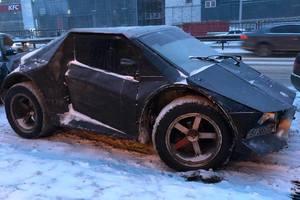Трансформеры в городе: на улицах Киева заметили автомобиль-монстр
