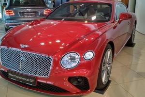 В Украине засветилась новейшая модель Bentley за 400 тысяч долларов