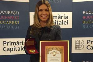 Симона Халеп стала почетным гражданином Бухареста