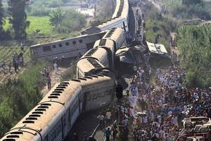 In Egypt two trains collided: 10 people died