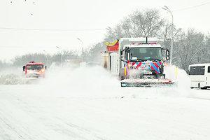 Днепропетровскую область замело снегом: последствия непогоды