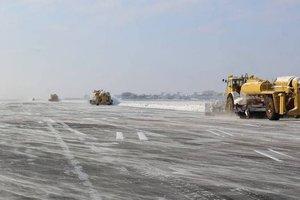 Непогода в Украине: запорожский аэропорт приостановил работу