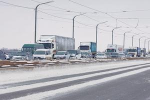 Днепр и область атакует снежный циклон: последствия непогоды