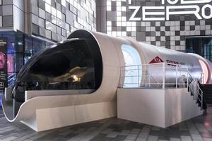 Hyperloop Илона Маска впервые показали изнутри (фото)