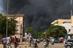 On the French Embassy in Burkina Faso was attacked by militants