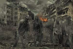 Scientists have calculated the size of the army, able to protect the world from zombies