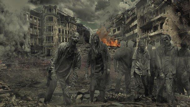 Армия несомненно поможет выжить вовремя зомби-апокалипсиса