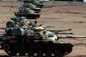 Turkey reported military successes in Syria