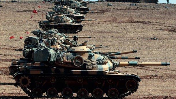 Турецкая авиация нанесла удар посирийским военным, поддерживающих курдов
