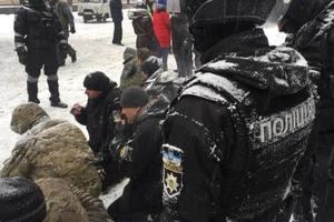 При разгоне палаточного городка под Радой задержали 15 участников АТО – МВД