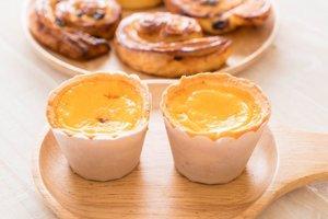 Как приготовить португальские пирожные с заварным кремом