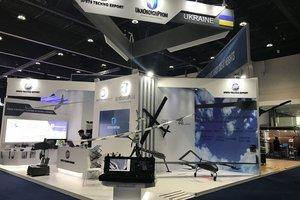Украина показала в ОАЭ новые беспилотники