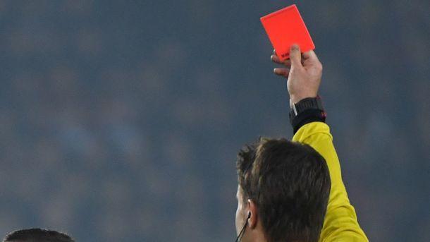 Судья обиделся нафамилию футболиста иудалил его
