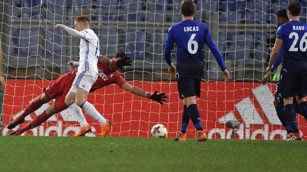 Футболист «Динамо» претендует название лучшего игрока недели вЛиге Европы