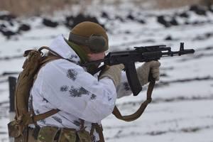 За сутки на Донбассе погиб один украинский воин - штаб АТО